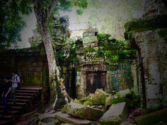 Beng Mealea@Kambodia カンボジア ジブリ「天空の城ラピュタ」発祥の地