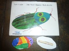 Eric Carle Insect theme Click Beetle, fine motor focus.