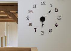 Graphic Number Clock