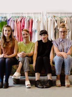 This Fashion Library Lets You Check Out Clothes+#refinery29