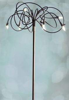 New take on the always practical floor lamp!