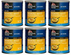 Mountain House Breakfast Skillet 10 Can Freeze Dried Food  6 Cans Per Case >>> Be sure to check out this awesome product.(This is an Amazon affiliate link and I receive a commission for the sales)