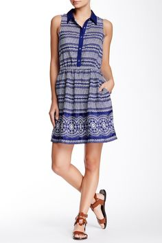 Woven Dress  by oat + fawn on @nordstrom_rack