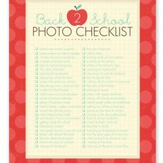 50 photo ideas and photography prompts to help you capture memories throughout the school year.