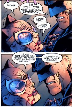 One of the best moments in Hush ❤ I simply love Catwoman & Batman together