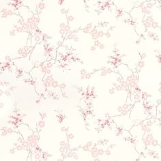 Find sophisticated detail in every Laura Ashley collection - home furnishings, children's room decor, and women, girls & men's fashion. Laura Ashley, Wallpaper Paste, Wall Wallpaper, Iphone Wallpaper, Cherry Blossom Wallpaper, Inviting Home, Gold Bedroom, Childrens Room Decor, Shop Front Design