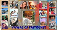 Share with the world a canvas of your friendship. The canvas has all your friends and family in it. Have paintful day!