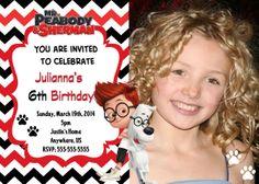 Mr Peabody and Sherman Movie Invitations $8.99