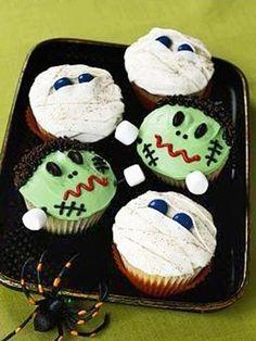 More Halloween dessert ideas.