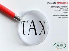 Fique por dentro das obrigações fiscais que vencem em 20/08.