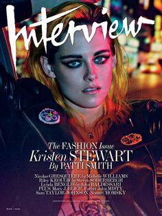 Patti Smith interviewed Kristen Stewart for Interview