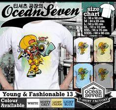 ourkios  - grafiti Vintage T- Shirt  - kaos  grafiti Vintage