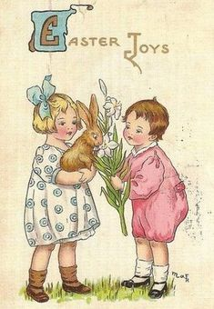 Hazelruthes's: Vintage Easter Images For You