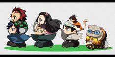 Manga Anime, Anime Demon, Anime Art, Cute Anime Chibi, Cute Anime Boy, Kawaii Anime, Slayer Meme, Japanese Cartoon, Dragon Slayer