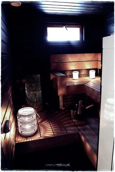 cozy sauna for cold weather Sauna Design, Finnish Sauna, Spa Rooms, Finland, Interior Inspiration, Cold Weather, Relax, Cozy, Peace