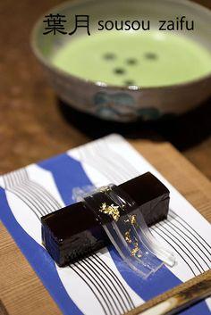 Japanese Sweets, 京都 sousou在釜 葉月 : KOBE Kitano Diary