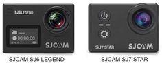 SJCAM SJ6 Legend Vs SJ7 Star