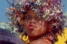 María Moñitos en el Carnaval de Barranquilla