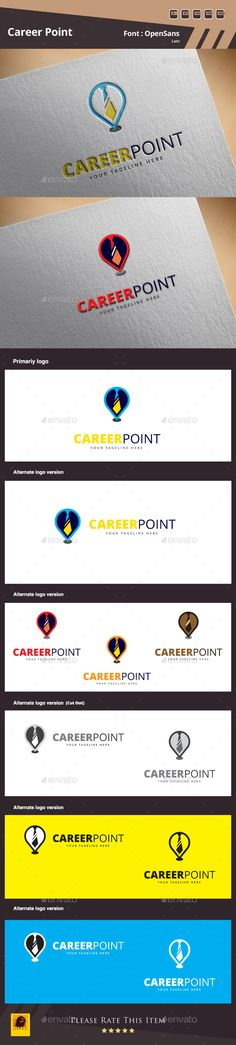 Career Point Logo Template