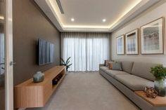 house set tv room gray design sofa lowboard