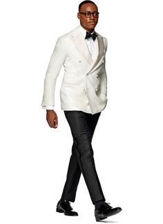 Jacket White Plain Madison C854bi   Suitsupply Online Store