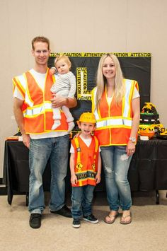 """Construction Themed Party ~ """"Dump Everything! Your child is turning Construction Themed Party ~ """"Dump Everything! Your child is. Construction Birthday Parties, 2nd Birthday Parties, 1st Birthdays, Construction Party Decorations, Third Birthday, Birthday Ideas, Baby Boy Birthday, Farm Birthday, Digger Party"""