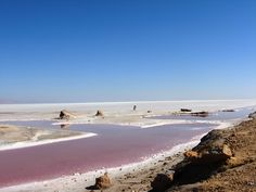 Chott El Jerid (Deserto do Sal), Tunisia.