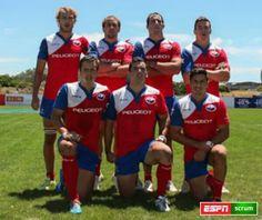 Los Cóndores, rugby Chile