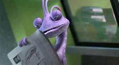 *RANDALL BOGGS ~ Monsters Inc., 2001