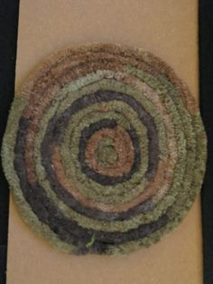 Dollhouse RUG Miniature Wool Rug Multi Browns by CulberryMountain