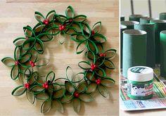 A 10 legszebb házi készítésű karácsonyi koszorú, amit valaha ...