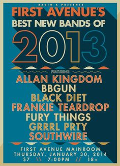 First Avenue's Best New Bands of 2013