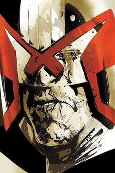 Judge Dredd by Jock