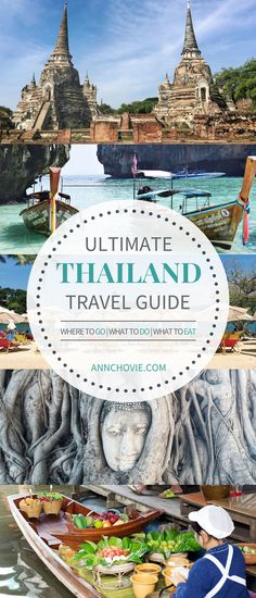 I've broken down my trip to the different locations I've gone too, including where I stayed, must-do activities, and places to eat. Hope this Thailand travel guide will inspire you to take a trip to Thailand. I already can't wait for my next trip there, as I have so much left to see! | THAILAND TRAVEL TIPS | THAILAND TRAVEL DESTINATIONS | THAILAND TRAVEL ITINERARY | WHAT TO DO IN THAILAND | WHERE TO EAT IN THAILAND | PLACES TO VISIT IN THAILAND