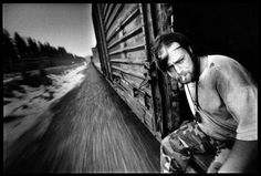 Hobo's in the U.S.A. by Stephan Vanfleteren
