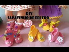 COMO FAZER SAPATINHO PARA BABY ALIVE E OUTRAS BONECAS - YouTube