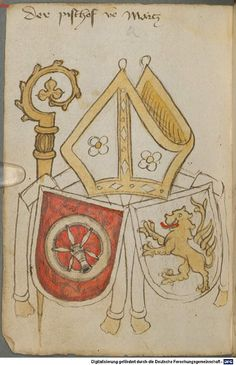 Ortenburger Wappenbuch Bayern, 1466 - 1473 Cod.icon. 308 u  Folio 189v