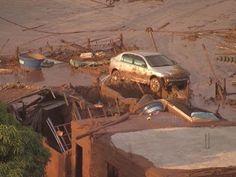 Lama pra todo lado: Rompimento das barragens de rejeitos da mineradora em Mariana (MG) é metáfora do País.!...