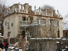 the crazy artists house in Lutsk.