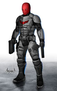 Red Hood - Redesign by Bakabakero