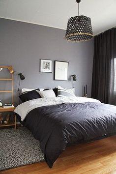 Οι καλύτερες ιδέες για να διακοσμήσεις το υπνοδωμάτιο σου - JoyTV Best Bedroom Colors, Bedroom Color Schemes, Grey Bedroom Paint, White Bedroom, Bedroom Neutral, Neutral Walls, Decor Room, Bedroom Decor, Home Decor