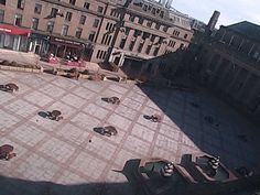 Dundee City Square from Overgate Centre - a webcam in Dundee, United Kingdom
