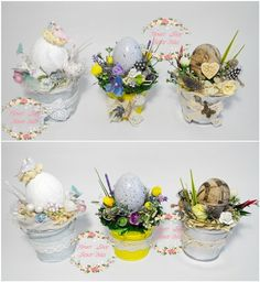Easter Tree, Easter Wreaths, Disney Diy Crafts, Diy And Crafts, Egg Crafts, Easter Crafts, Handmade Decorations, Flower Decorations, Diy Decoupage Easter Eggs