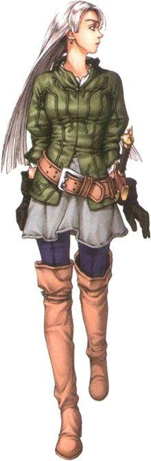 Chris Prairie Cothes - Characters & Art - Suikoden III
