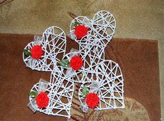 Crochet Earrings, Valentines, Christmas Ornaments, Holiday Decor, Google, House, Ideas, Paper Hearts, Paper Envelopes