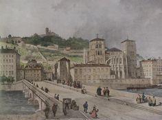 File:Le pont Tilsitt (Adrien Dauzats lithographie 1848 - Archives municipales).jpg