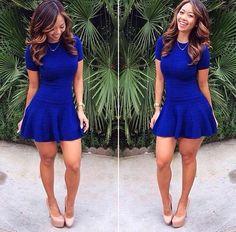 Blues dress shoes