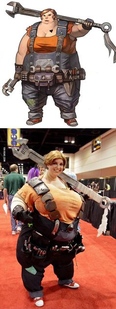 Mother of cosplay