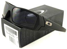 oakley matte black gascan sunglasses khp8  NEW OAKLEY GASCAN SUNGLASSES 03-473 MATTE BLACK / GREY
