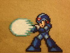 X Blasting Fools  Mega Man X  Perler Bead Sprite by VGPerlers